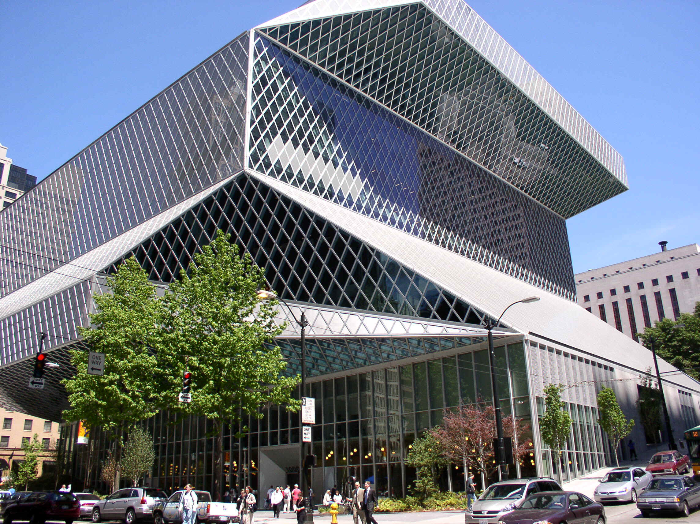 Downtown Public Library, Seattle, Washington